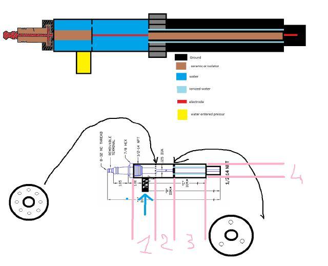 Water Car Spark Plug 57